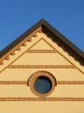 Het dak en de bakstenen van de heup Royalty-vrije Stock Afbeeldingen