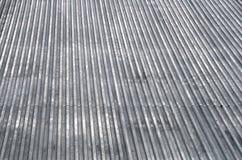 Het dak hoogste textuur van het metaal Stock Afbeeldingen