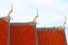 Het dak Thailand van de tegelstempel Stock Fotografie