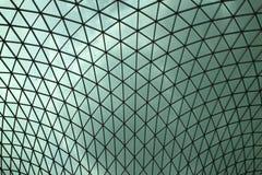 Het dak van British Museum stock fotografie