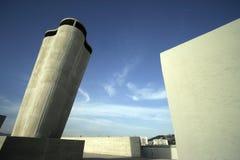 Het dak van Corbusier stock foto's