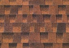 Het dak van dakspanen Stock Fotografie