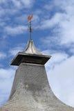 Het dak van de distilleerderij stock foto