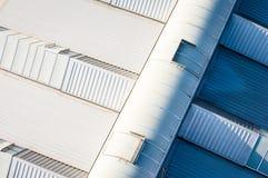 Het dak van de industrie Stock Foto