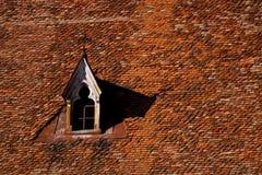 Het dak van de kerk Royalty-vrije Stock Foto's