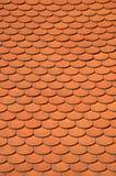 Het dak van de kleitegel Stock Afbeelding