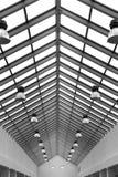 Het dak van de lamp Stock Foto