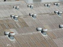 Het dak van de loods Stock Foto