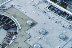 Het dak van de Promenadawandelgalerij royalty-vrije stock afbeeldingen