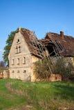 Het dak van de schade Stock Foto's