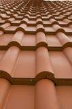 Het dak van de tegel Stock Foto's