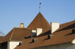 Het dak van de tegel Stock Afbeeldingen
