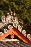 Het dak van de tempel Royalty-vrije Stock Fotografie