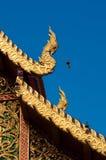 Het dak van de tempel, Phra die Doi Suthep Royalty-vrije Stock Foto's