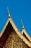 Het dak van de tempel, Phra die Doi Suthep Stock Afbeeldingen