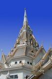 Het dak van de Tempel in Thailand Stock Foto