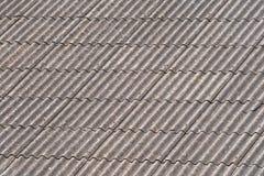 Het dak van het asbest Royalty-vrije Stock Fotografie