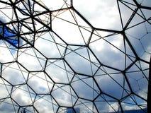 Het dak van het bioma stock afbeelding