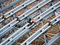 Het dak van het festival amphitheatre Stock Afbeeldingen