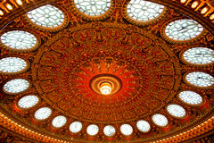 Het dak van het gebrandschilderd glas Royalty-vrije Stock Afbeelding