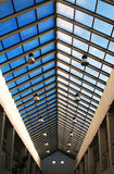 Het dak van het glas Stock Fotografie