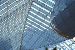 Het dak van het glas Stock Foto