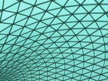 Het dak van het glas Royalty-vrije Stock Fotografie