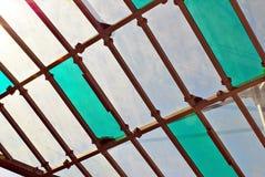 Het Dak van het glas Royalty-vrije Stock Afbeeldingen