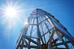 Het Dak van het glas Royalty-vrije Stock Afbeelding