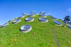 Het dak van het gras Stock Afbeelding