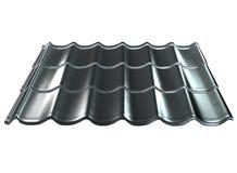 Het dak van het metaal stock illustratie