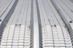 Het dak van het metaalblad Stock Foto's