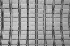 Het dak van het metaalblad Stock Foto