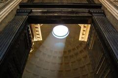 Het dak van het pantheon Stock Foto