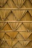Het dak van het patroon van palm Royalty-vrije Stock Afbeeldingen