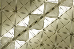 Het dak van het staal Royalty-vrije Stock Fotografie