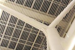 Het dak van het staal Stock Afbeeldingen