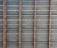 Het dak van het tin Stock Fotografie