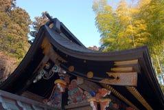 Het dak van het Zuihodenmausoleum Stock Fotografie