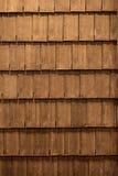 Het dak van hout wordt gemaakt dat Royalty-vrije Stock Foto's
