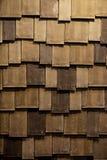 Het dak van hout wordt gemaakt dat Stock Foto