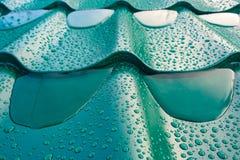 Het dak van metaal stock afbeelding