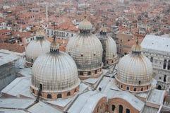 Het dak van San Marco Stock Afbeelding
