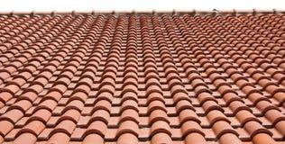 Het dak van tegels Royalty-vrije Stock Foto's