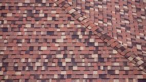 Het dakachtergrond van de bouw Royalty-vrije Stock Fotografie