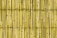Het dakpatroon van het riet stock foto's