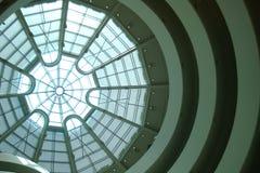 Het Dakraam van het Guggenheimmuseum stock afbeelding