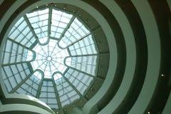 Het Dakraam van het Guggenheimmuseum royalty-vrije stock afbeelding