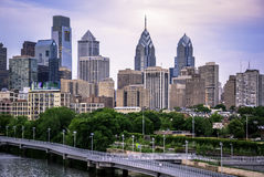 Het dakraam van Philadelphia het beste Royalty-vrije Stock Afbeelding