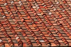 Het daktegels van het terracotta Royalty-vrije Stock Foto's